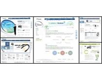 设计接头展示网页模板