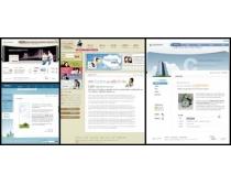 亲子关系设计网页模板