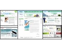 成功业绩网页设计模板