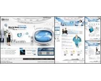 创新科技网页模板