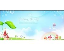 春季童话场景设计时时彩平台娱乐