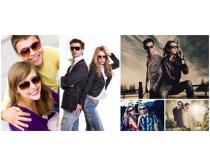 情侣人物摄影图片素材