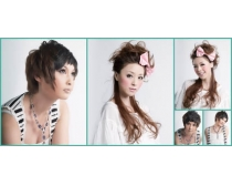美发模特时时彩娱乐网站素材