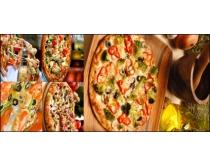美味披萨高清图片素材
