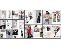 国外时尚杂志个人写真PSD模板