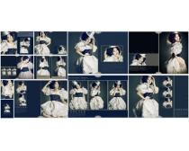 阿迪莉娅系列跨页写真模板