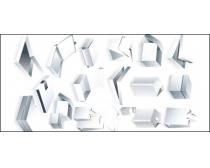空白纸盒矢量素材