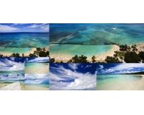 自然海水風光高清圖片