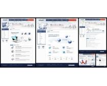 商业科技文化网页模板