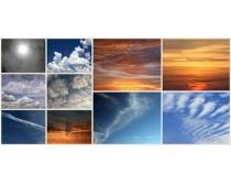 天空太阳云彩自然风光图片素材