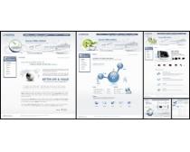 网络结构网页模板