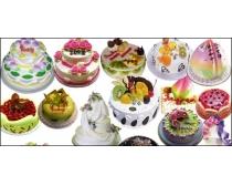 生日蛋糕免抠PSD分层素材