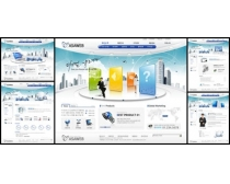韩国展示风设计网页模板
