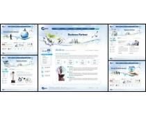 商业化韩国网页模板