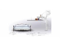 清爽旋轉樓梯設計PSD素材