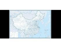 中国地图公路版矢量源文件
