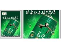 易拉罐饮料海报设计PSD素材