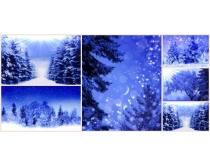 冬雪图片素材