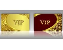 高档VIP贵宾卡设计矢量素材