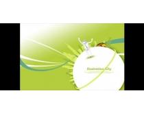城市商业概念环境保护PSD素材