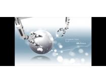 機械商務科技金融PSD素材