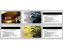 高尔夫球VIP卡设计PSD素材