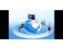 企業商務科技文化PSD素材