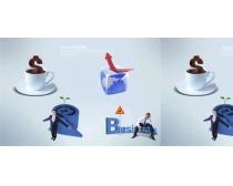 商業科技概念設計PSD素材