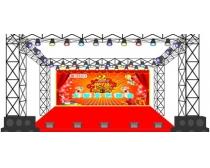 舞台设计效果矢量素材
