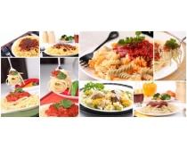 意大利面食图片素材