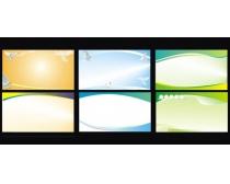 科技教育展板模板设计矢量素材