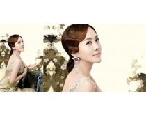 娜的丽化妆品系列PSD素材