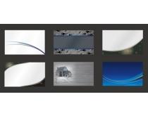 环保企业名片卡片设计矢量素材