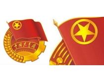 中国共青团团徽矢量素材