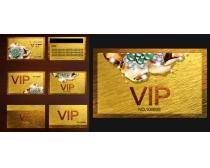 尊贵VIP卡设计PSD分层素材