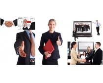 商业人士图片素材