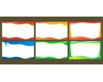 科技宣传栏展板设计矢量素材