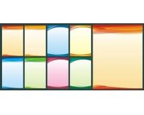 科技制度展板设计矢量素材