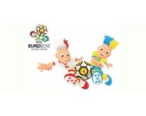 2012年欧洲杯吉祥物矢量素材