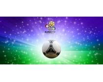 2012足球欧洲杯海报背景PSD素材