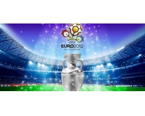 2012年欧洲杯主题海报设计PSD素材