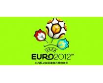 2012欧洲杯车身贴花PSD分层素材