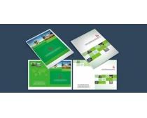 环保画册封面设计矢量素材