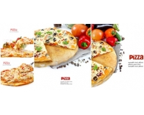 比萨与蔬菜图片素材
