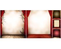 内墙背景图片素材
