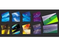 时尚科技名片卡片设计模板PSD素材