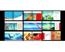 企业历史企业文化画册设计矢量素材