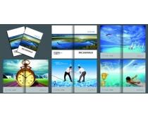 广告装饰企业画册PSD素材