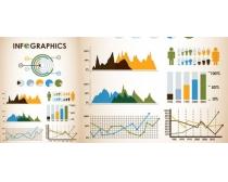 商务金融分析图表矢量素材