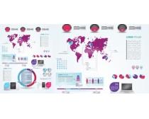 数据统计分析表矢量素材